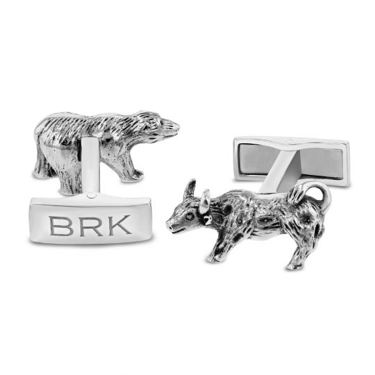 Bull & Bear Berkshire Hathaway Cufflinks