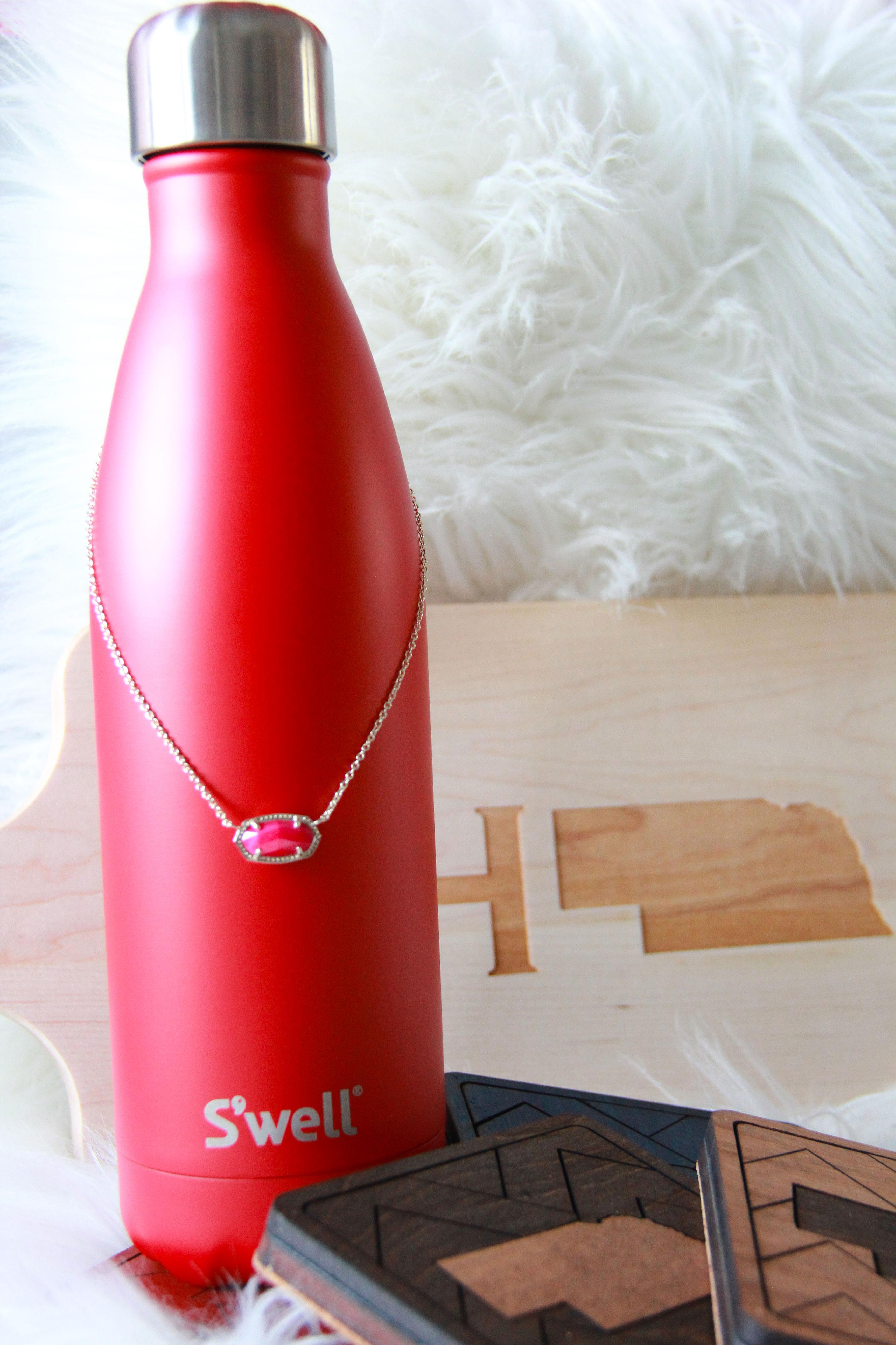 swell bottle, Nebraska coasters and Nebraska maple leaf board