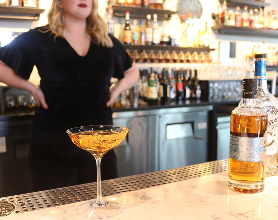 golden year cocktail