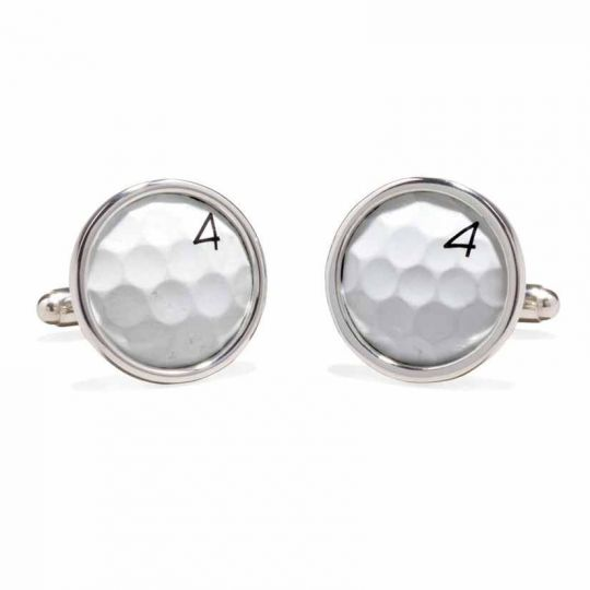 Tokens & Icons TPC Sawgrass Golf Ball Cuff Links