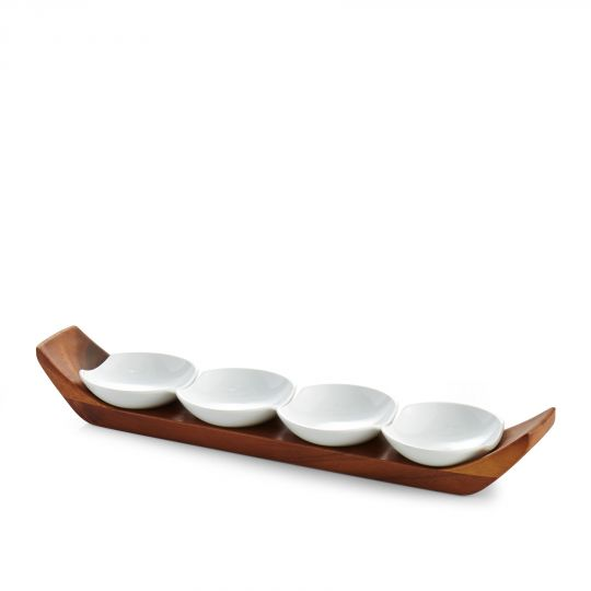 Nambe Quatro Snack Set