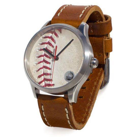 Tokens & Icons Kansas City Royals Game Used Baseball Watch
