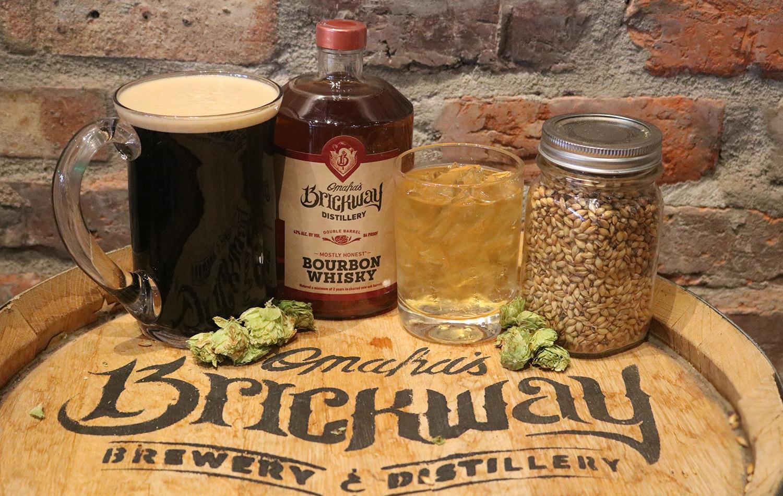 brickway bourbon and epic blackout stout