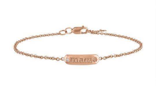 mama engraved bracelet