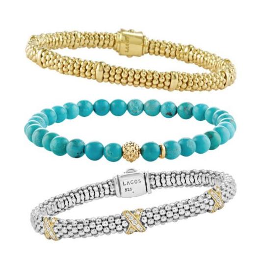 lagos bracelet stack
