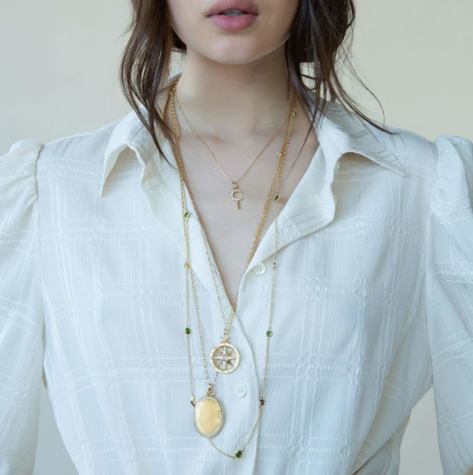 long layered necklaces