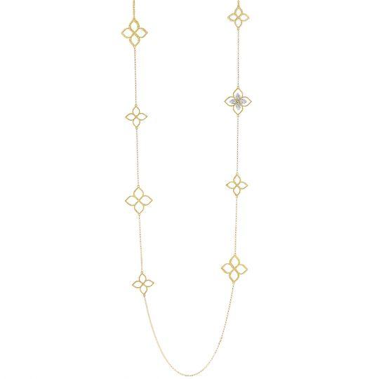 princess flower station necklace