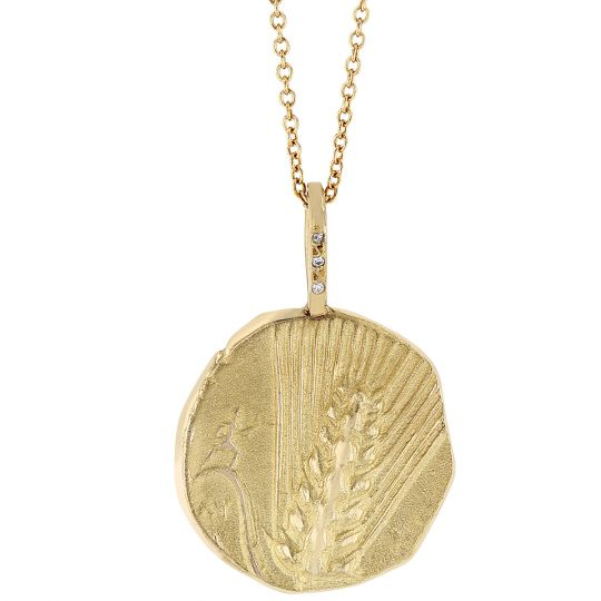 artifact charm peacock pendant