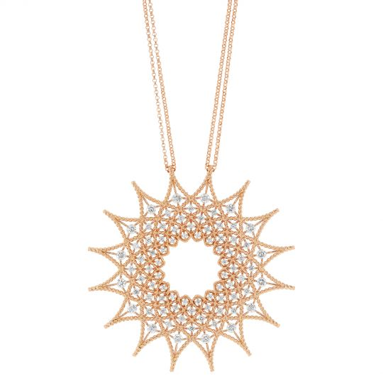 roberto coin starburst necklace