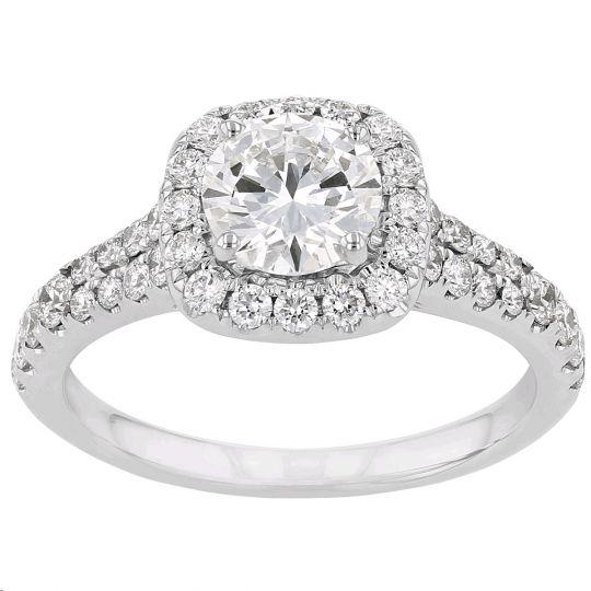 lab grown diamond ring