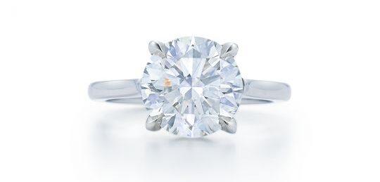 kwiat diamond solitaire ring