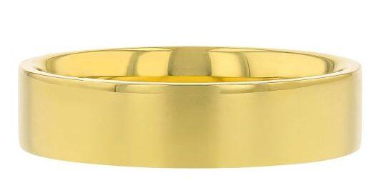 furrer jacot yellow gold wedding band