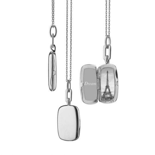 monica rich kosann sterling silver locket