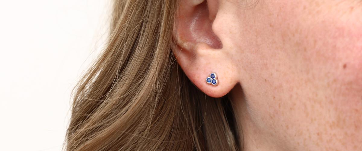 sapphire birthstone earrings