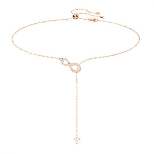 infinity lariat necklace