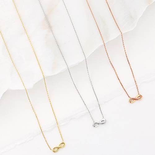infinity necklaces
