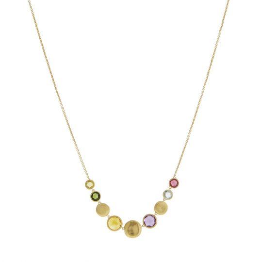Marco Bicego Mixed Gemstone Necklace