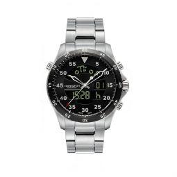 5b1d080201f Hamilton Khaki Flight Timer 40mm Men s Watch