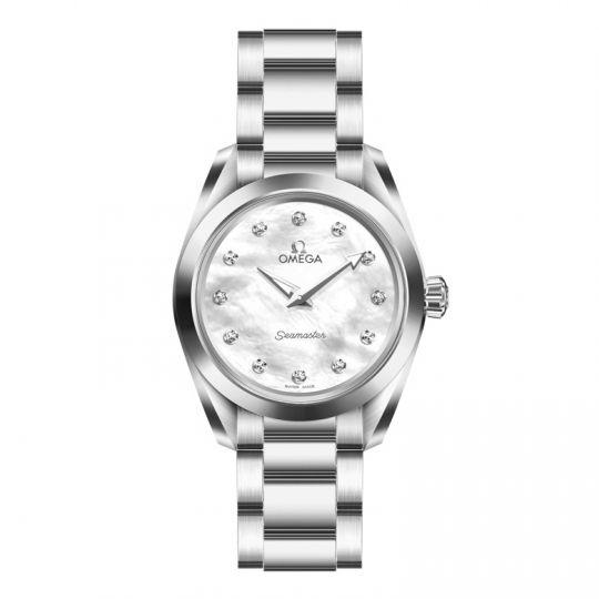 f917691890c9 Omega Seamaster Aqua Terra 150m Quartz Stainless Steel 28mm Women s Watch