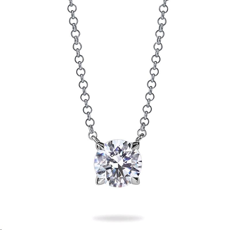 8b57b1ff48ac Atelier Swarovski DIAMA Swarovski Created Diamond Necklace in White ...