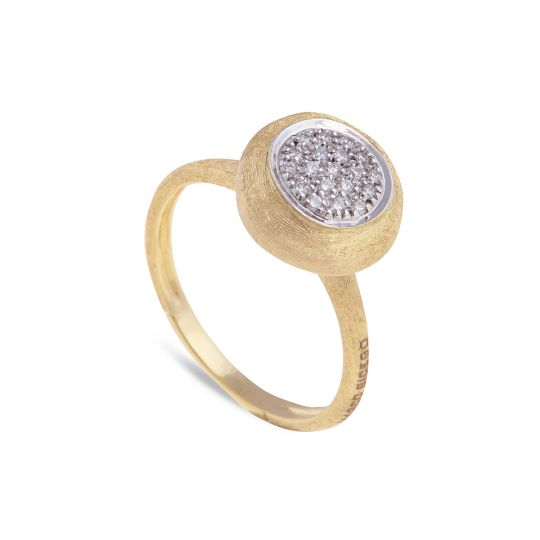 Marco Bicego Jaipur 18K Diamond Bezel Ring H6IBel24R