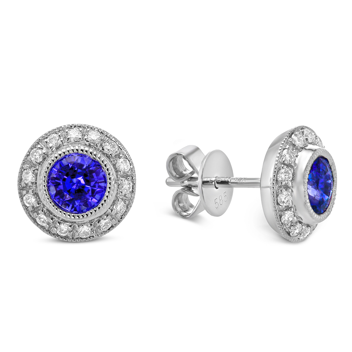 mens earrings b macy s sapphire shop