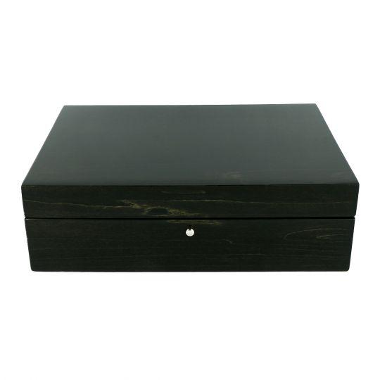 Tizo Charcoal Grey Jewelry Box Borsheims