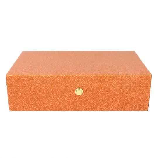 Tizo Orange Jewelry Box Borsheims