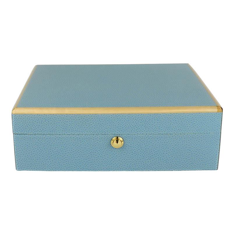 Tizo Blue Jewelry Box Borsheims
