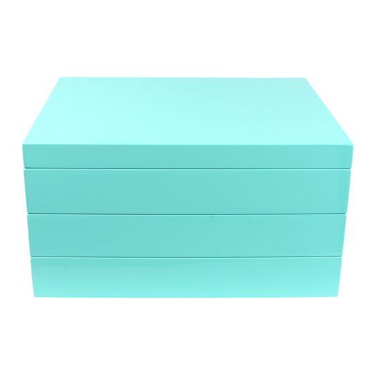 Tizo Stackable Turquoise Jewelry Box Borsheims