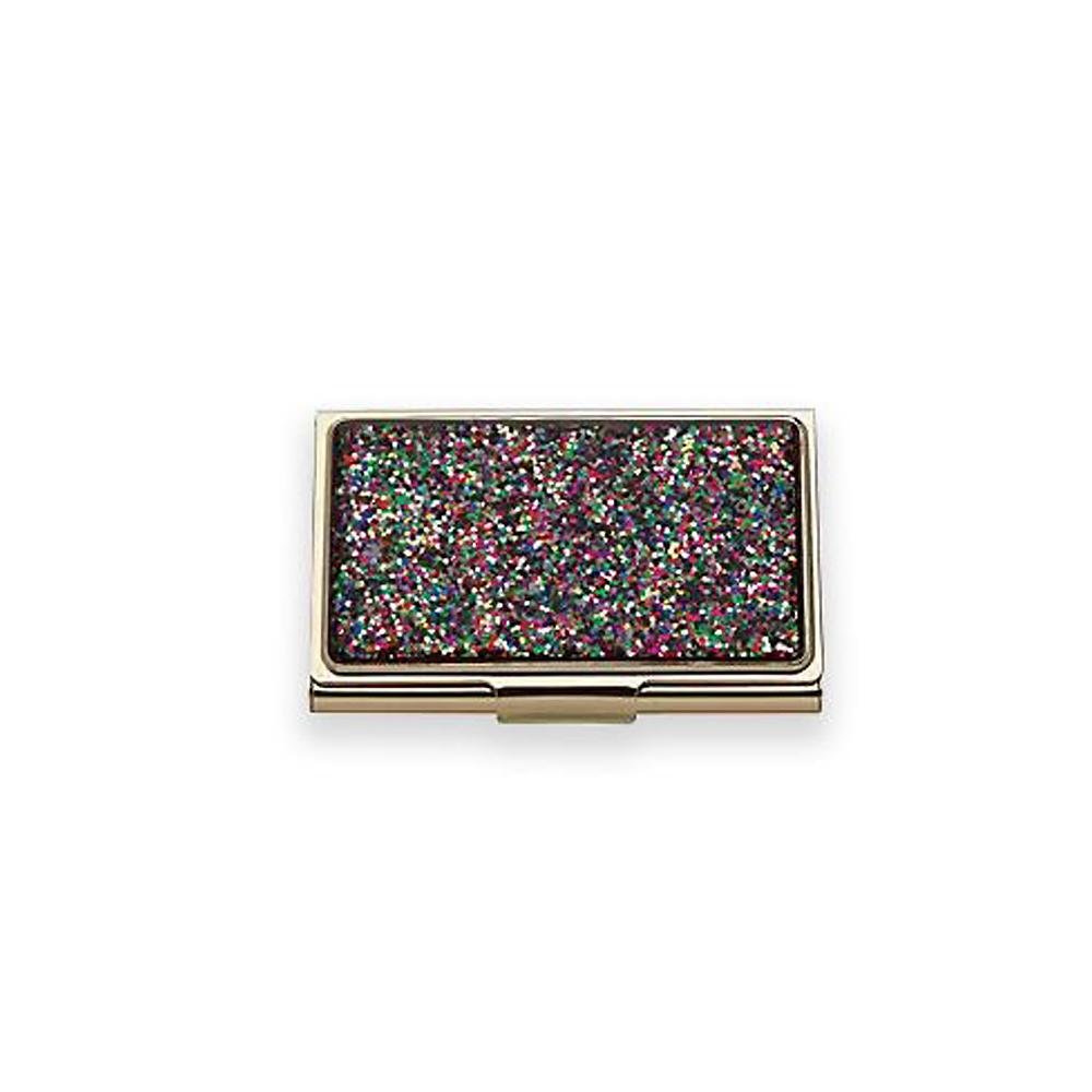 Kate Spade Simply Sparkling Business Card Holder, Multicolor | Borsheims