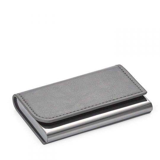 Torre Tagus Executive Curve Business Card Holder Grey Borsheims