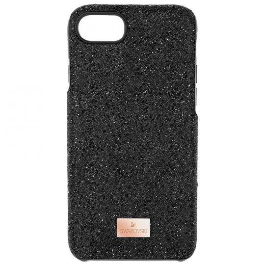 buy online e9023 f31a4 Swarovski High Smartphone Case, Black, iPhone 7