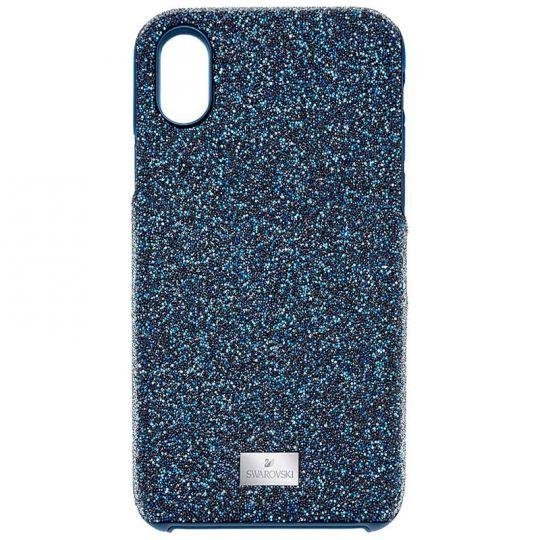 online store 75fb1 bdc58 Swarovski High Smartphone Case, Blue, iPhone X
