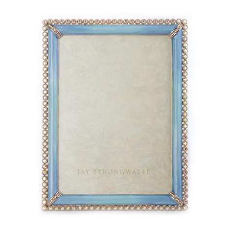 Jay Strongwater Lucas Periwinkle Frame, 5x7 | Borsheims