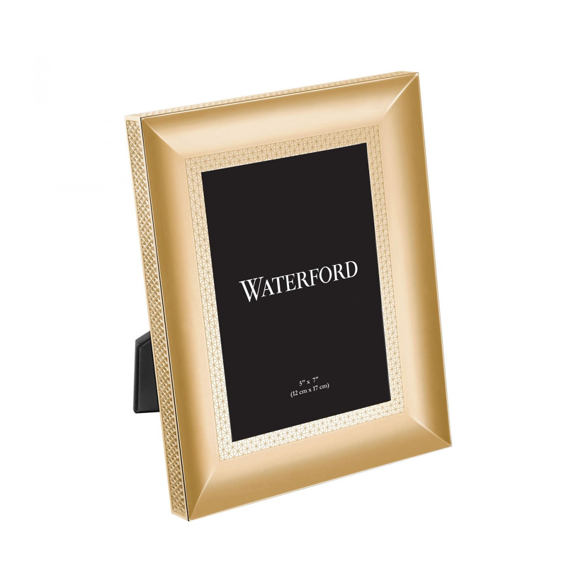 Waterford Lismore Diamond Gold Picture Frame 5x7 Borsheims