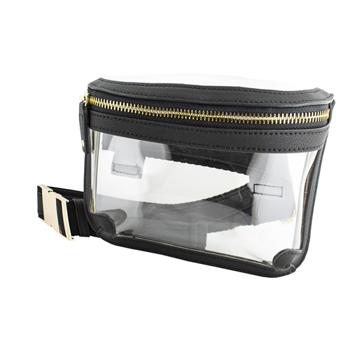 Capri Designs Black Belt Bag