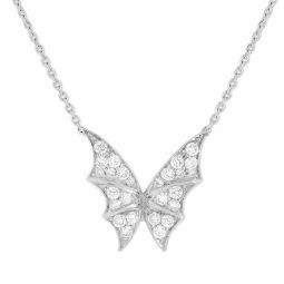 93fde098f415 Stephen Webster 18K White Gold Fly by Night Diamond Necklace