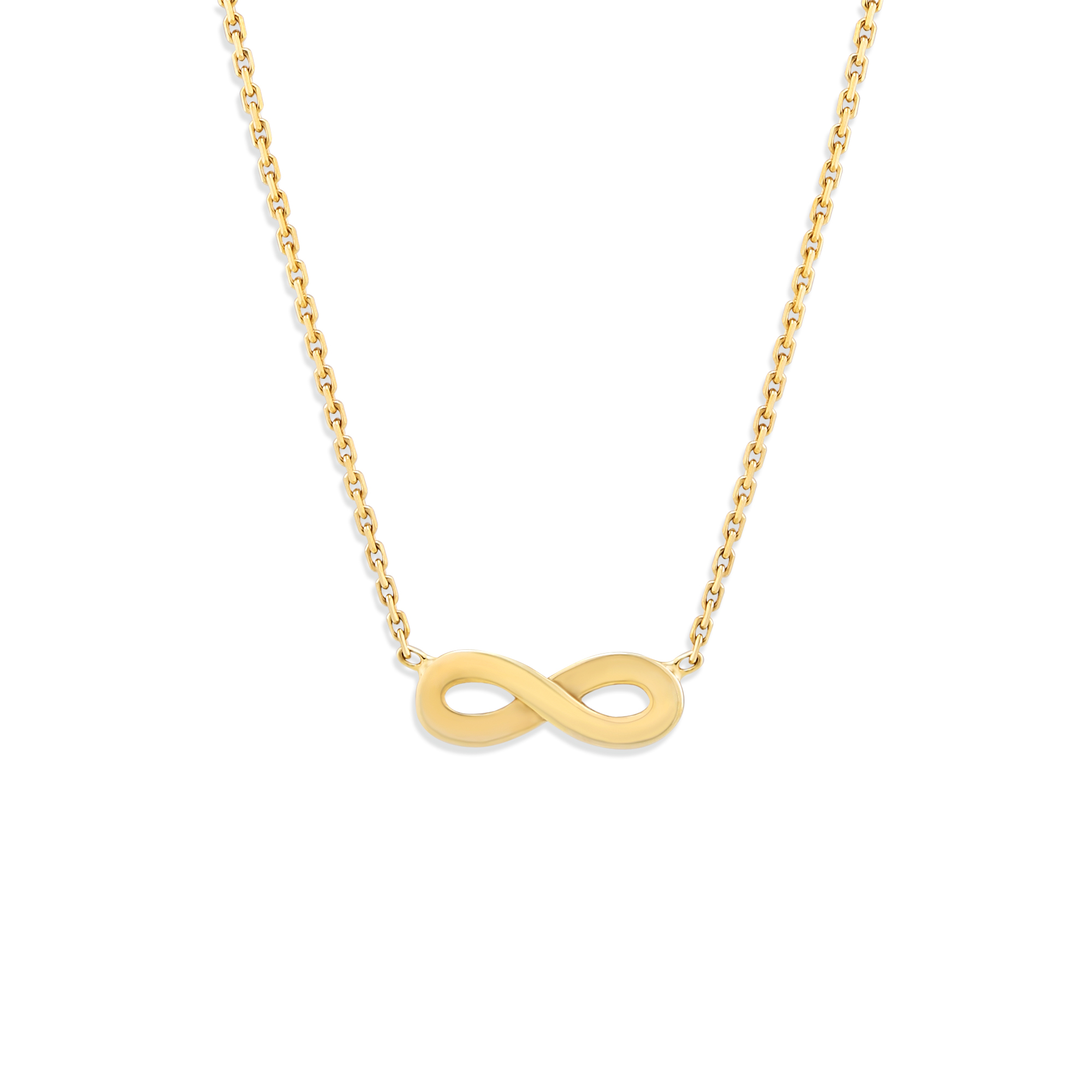necklace silver sterling infinity in