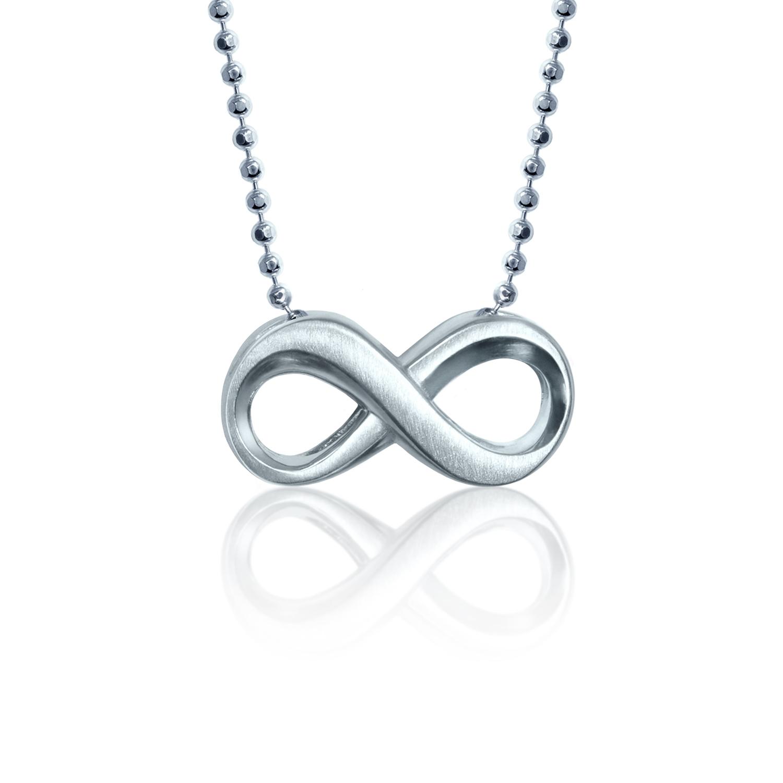 Alex Woo Sterling Silver Little Faith Infinity Pendant 16 Borsheims