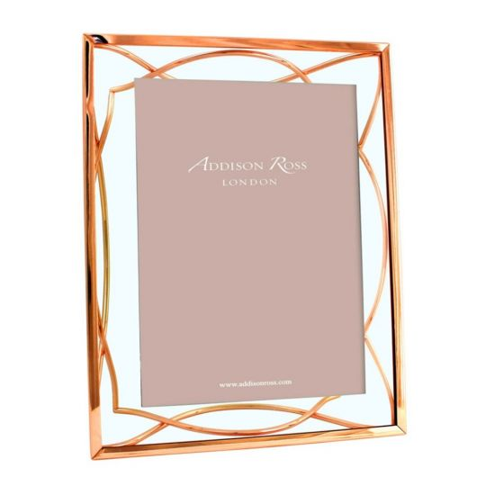 Addison Ross Rose Gold Elegance Frame 5x7 Borsheims