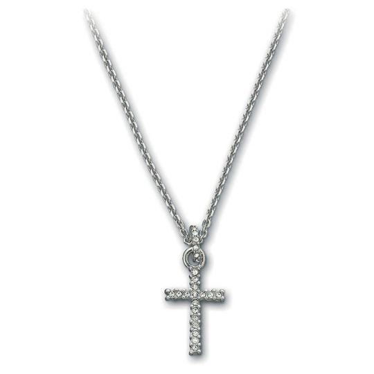 Swarovski crystal cross pendant borsheims swarovski crystal cross pendant aloadofball Choice Image
