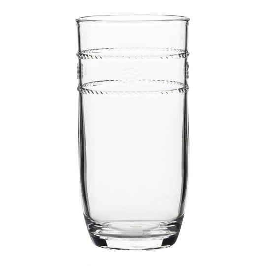 Jusliska Isabella Acrylic Large Beverage Glass Borsheims